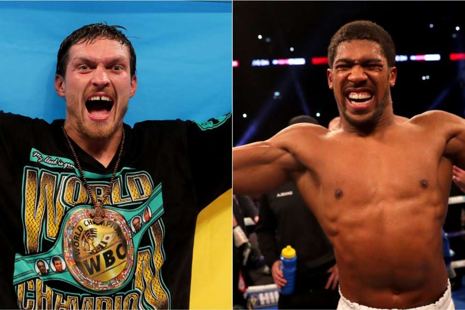 Oleksandr Usyk and Anthony Joshua