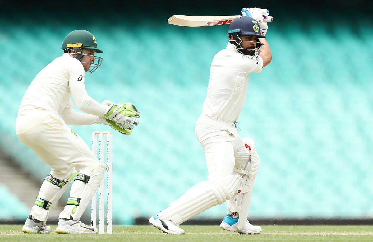 Australia Xi Vs India Warm Up Match Prithvi Shaw Virat Kohli Ajinkya Rahane Pujara Hit Fifties