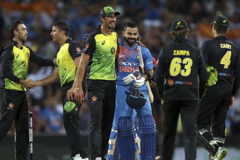 India Vs Australia Kohli Powers India To Series Levelling Win