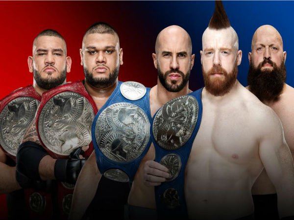 Tag Team Match: Raw Tag Team Champions vs Smackdown Tag Team Champions