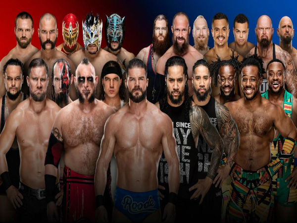 10-on-10 Tag Team Elimination Match: Raw vs. Smackdown