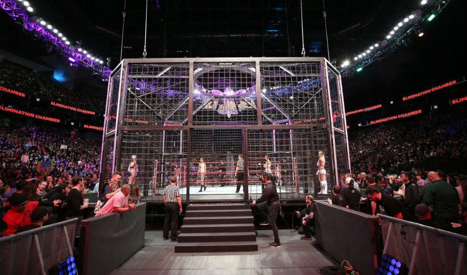 Wwe Host Elimination Chamber Fastlane Before Wrestlemania 35