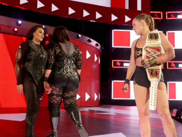 Nia Jax is waiting for a meeting with Ronda Rousey