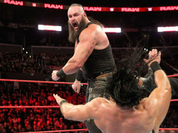 Braun Strowman is not in action; Corbin to fight Balor