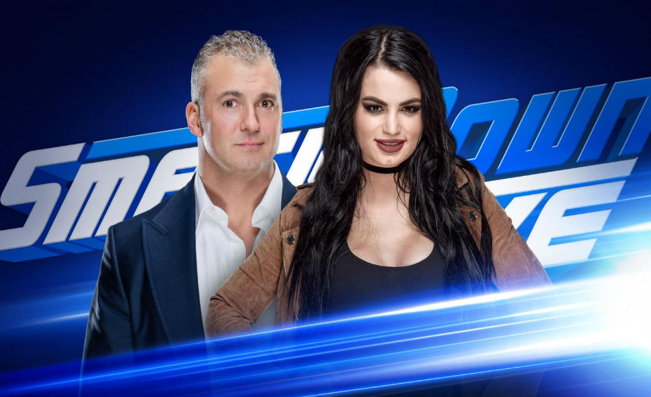 Smackdown to respond to Raws announcements (Images: WWE.com)