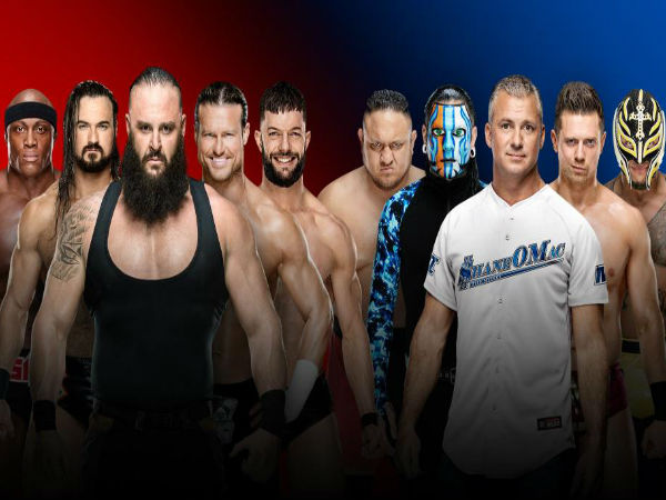 Men's 5-on-5 Traditional Survivor Series Elimination Match