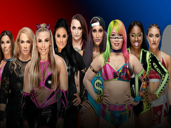 Womens's 5-on-5 Traditional Survivor Series Elimination Match
