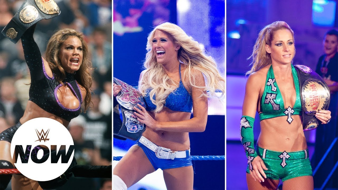 Women superstars could get Evolution, annually (image courtesy Youtube)