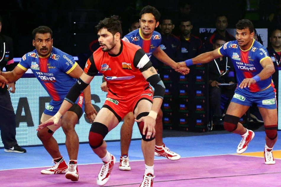 Pkl Rampant Rohit Propels Bengaluru Bulls Over Up Yoddha