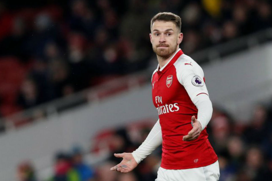 Arsenal contract rebel Aaron Ramsey is a free agent next June