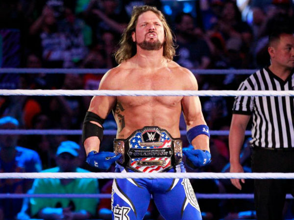 Honorable mention - AJ Styles
