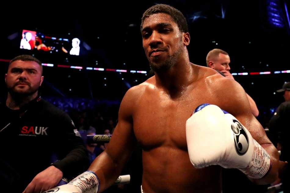 Anthony Joshua Fight Champion Deontay Wilder Heavyweight Tyson Fury