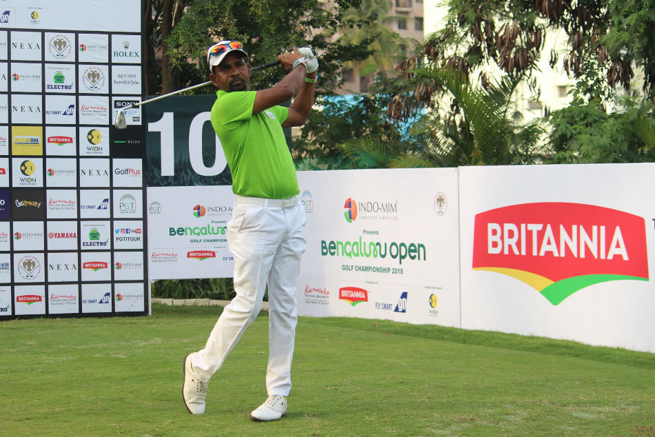 Anura Rohana powered ahead by three shots after shooting a sublime eight-under-64