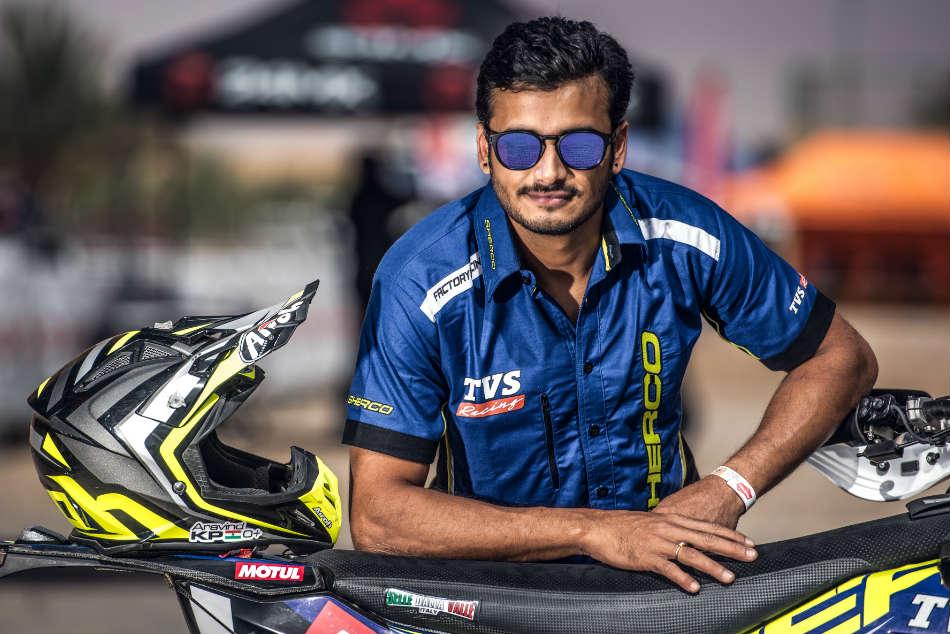 Aravind Kp Named The Sherco Tvs Factory Rally Team Dakar Rally 2019