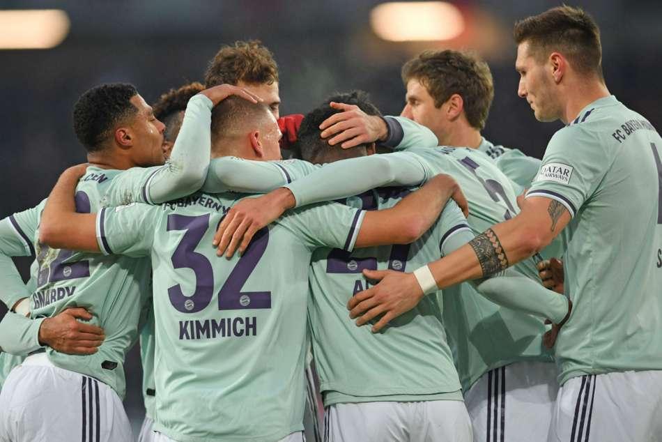 Hannover 0 Bayern Munich 4 Gnabry Kimmich Star Crushing Win
