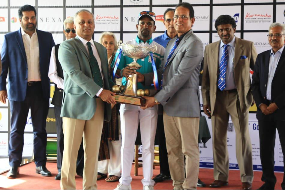 Bengaluru Open Golf Championship Anura Rohana Drives Home The Advantage Romps Three Shot Win