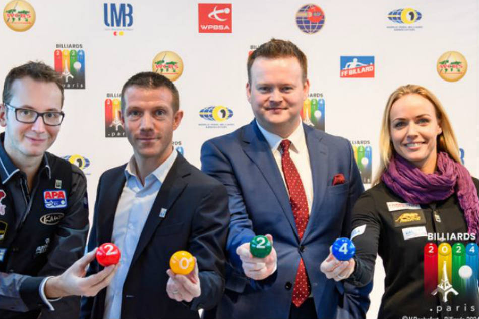 Billiards Sports Launched Its Bid Get On The Program The 2024 Paris Olympic Games