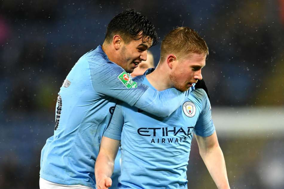 Leicester City 1 Manchester City 1 1 3 On Penalties Muric Stands Tall In Poor Shoot Out