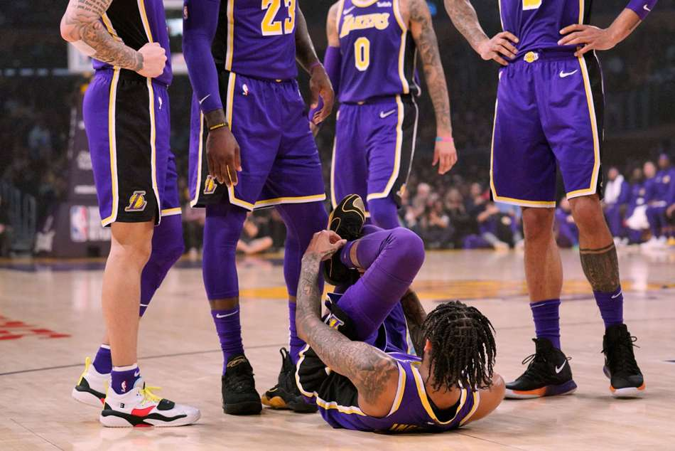 Brandon Ingram sprained his left ankle during Lakers win over Spurs