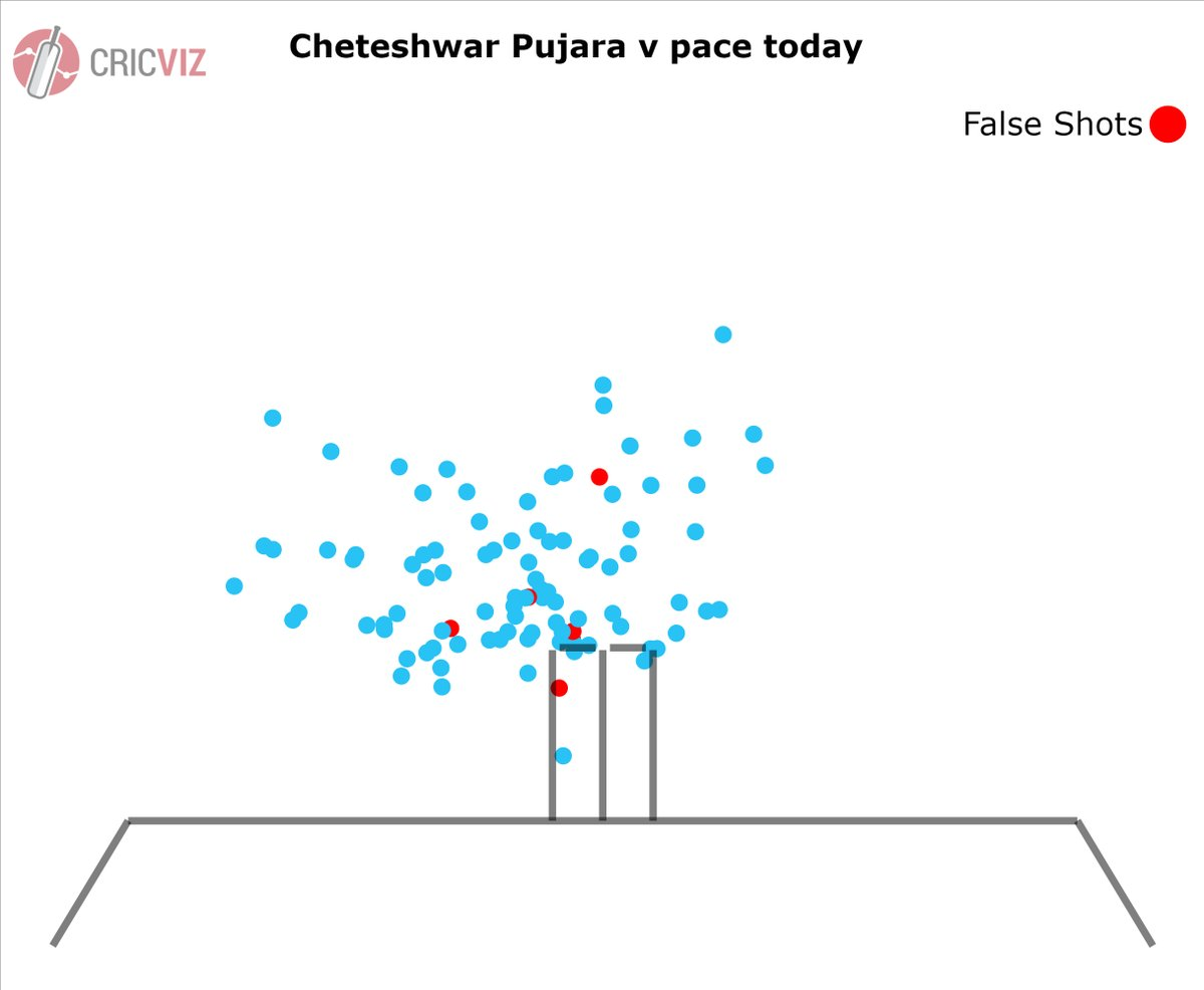 Cheteshwar Pujaras innings lowdown (Courtesy: CricVizz)