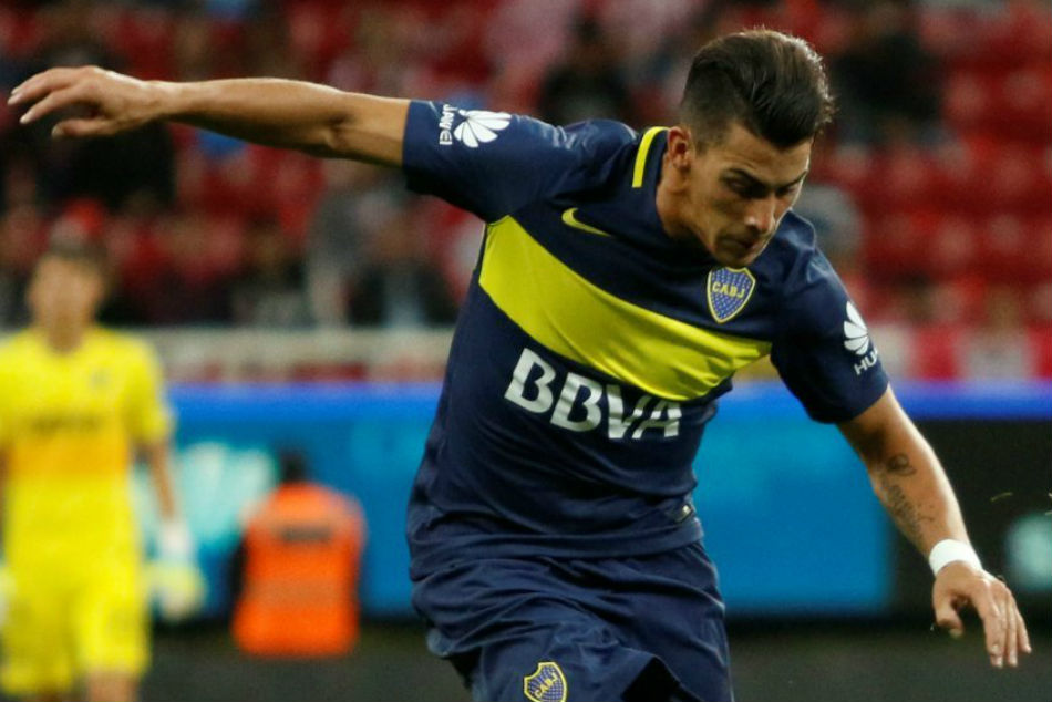 Boca Juniors and Argentina winger Cristian Pavon