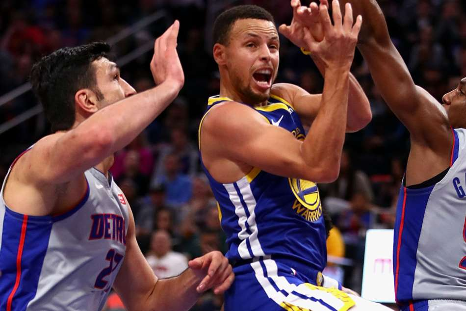 Wariors star Stephen Curry returned to action after three weeks