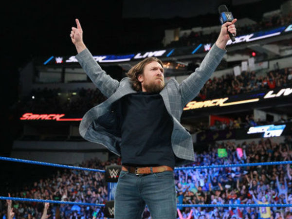 Daniel Bryan's return to wrestling