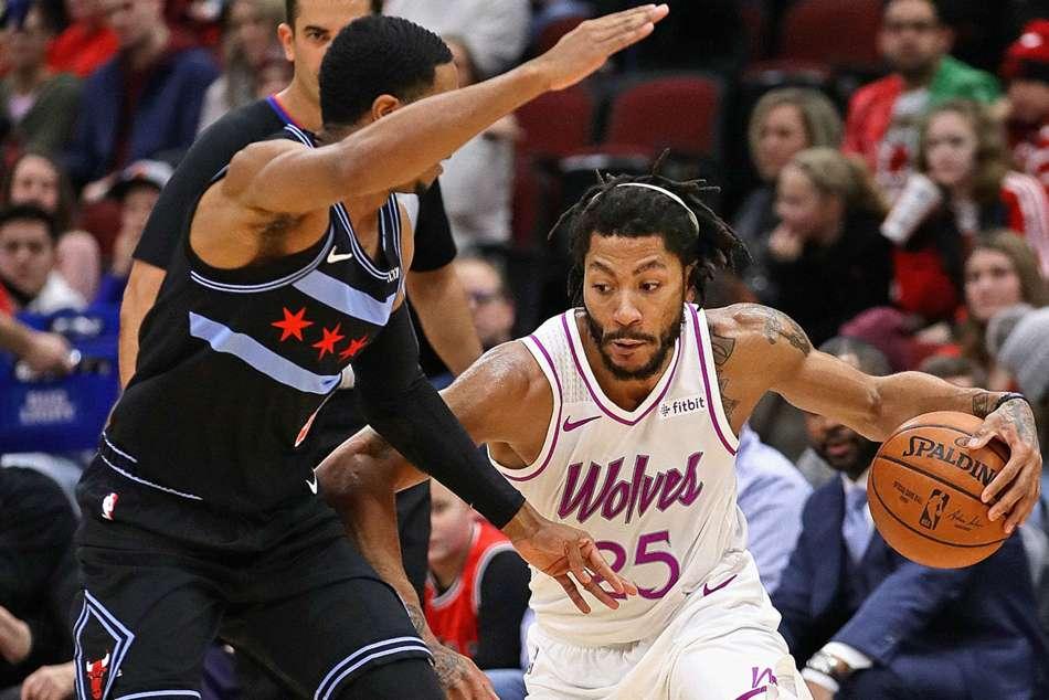 Nba Wrap Wednesday Scores Highlights Stars Preview Timberwolves Derrick Rose Chicago Return Mvp Chants