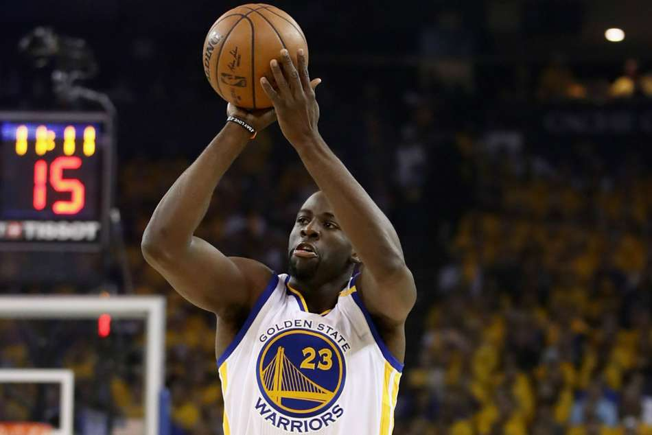 Golden State Warriors forward Draymond Green