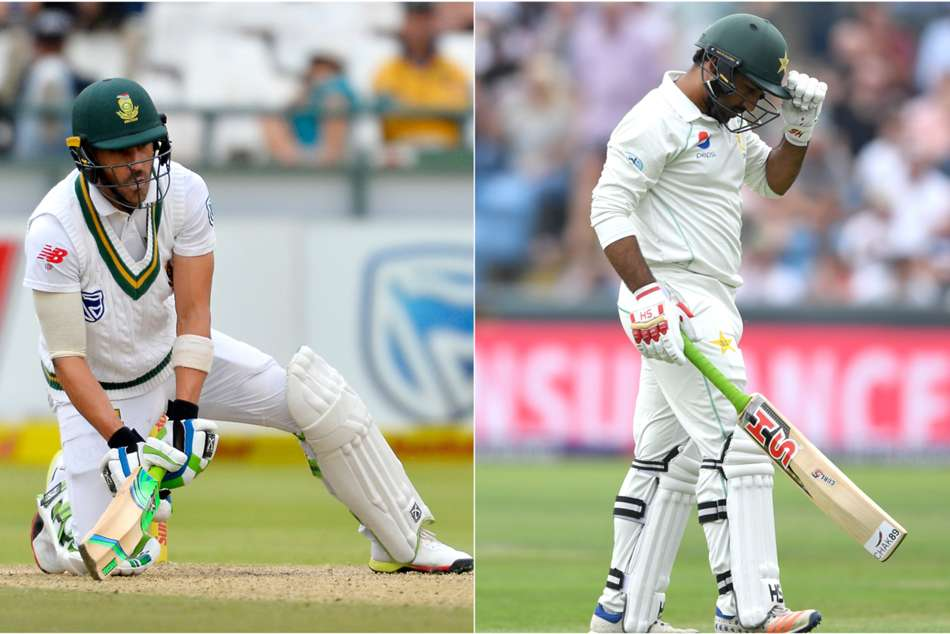 South Africa Pakistan First Test Faf Du Plessis Sarfraz Ahmed Ducks Pairs