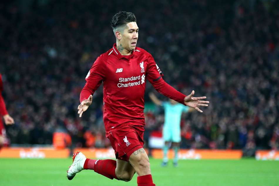Liverpool 5 Arsenal 1 Reds Go Nine Points Clear As Firmino Hat Trick Inspires Rout