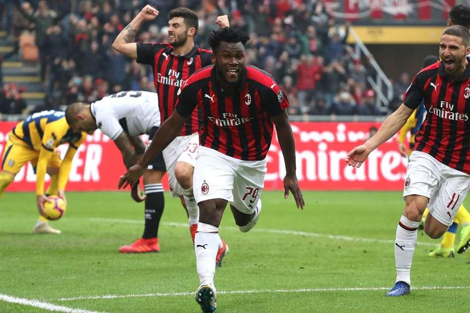 Ac Milan 2 Parma 1 Kessie Penalty Completes Comeback