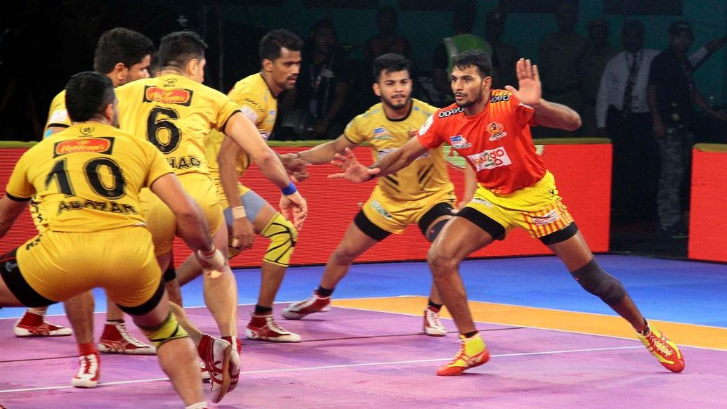 PKL 2018: Gujarat Fortunegiants leave it late to score a thrilling victory over Telugu Titans