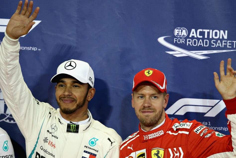 Ferrari Lewis Hamilton F1 Title Sebastian Vettel