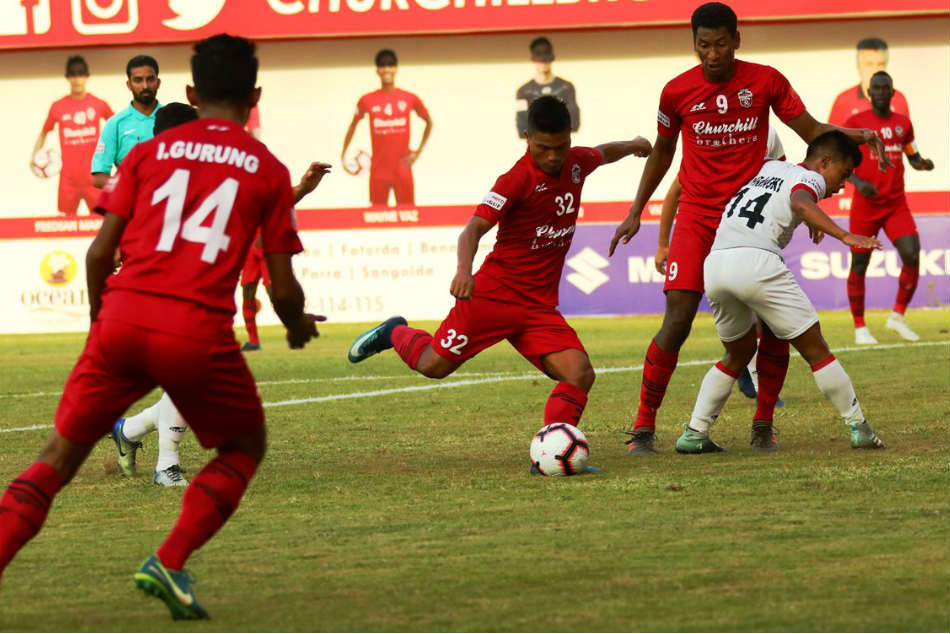 I League Churchill Beat Aizawl Fc 4 1 Jump 2nd Spot