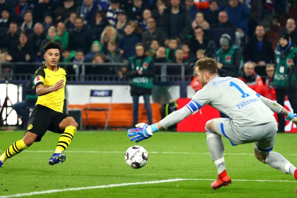Schalke 1 Borussia Dortmund 2 Jadon Sancho Bundesliga