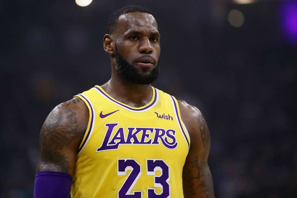LeBron James joined Lakers in the off-season