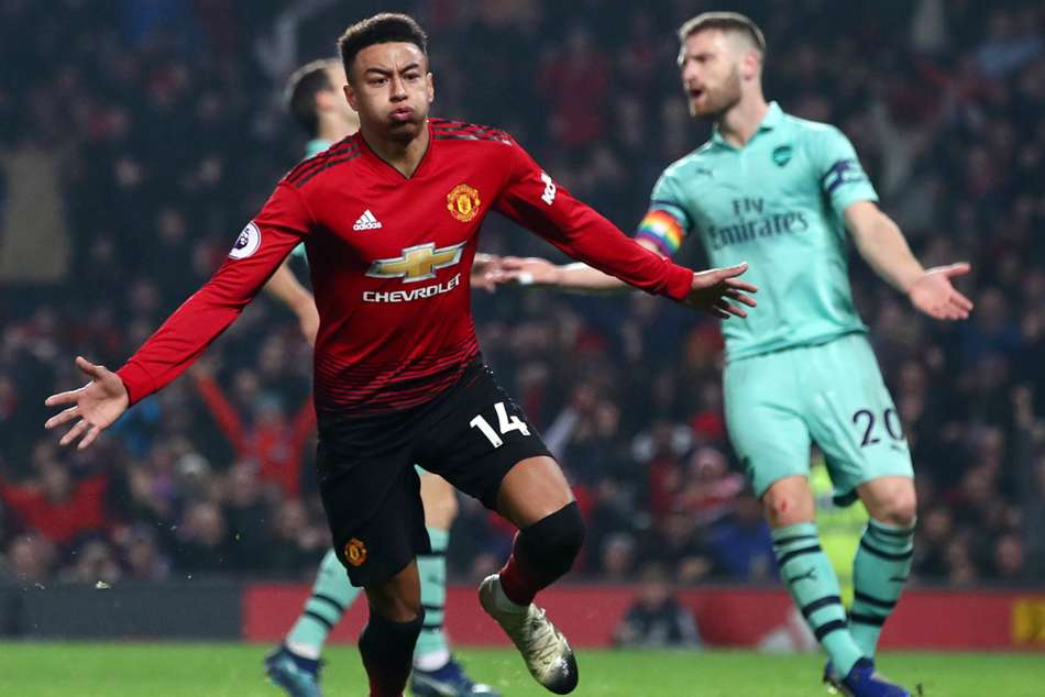 Manchester United 2 Arsenal 2 Match Report Jesse Lingard Goal Premier League