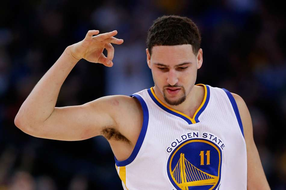 Golden State Warriors star Klay Thompson
