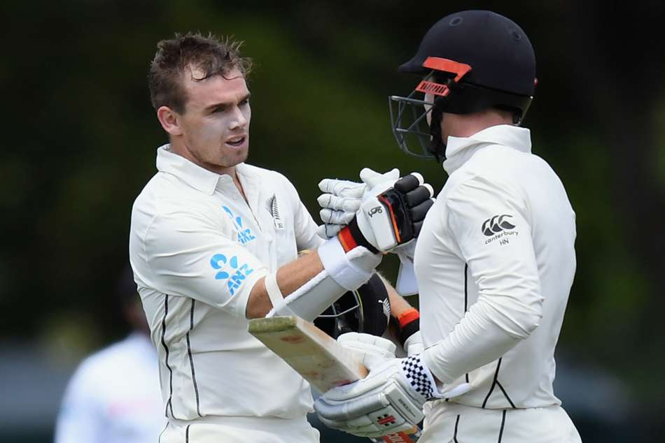 Latham Nicholls New Zealand Black Caps Sri Lanka