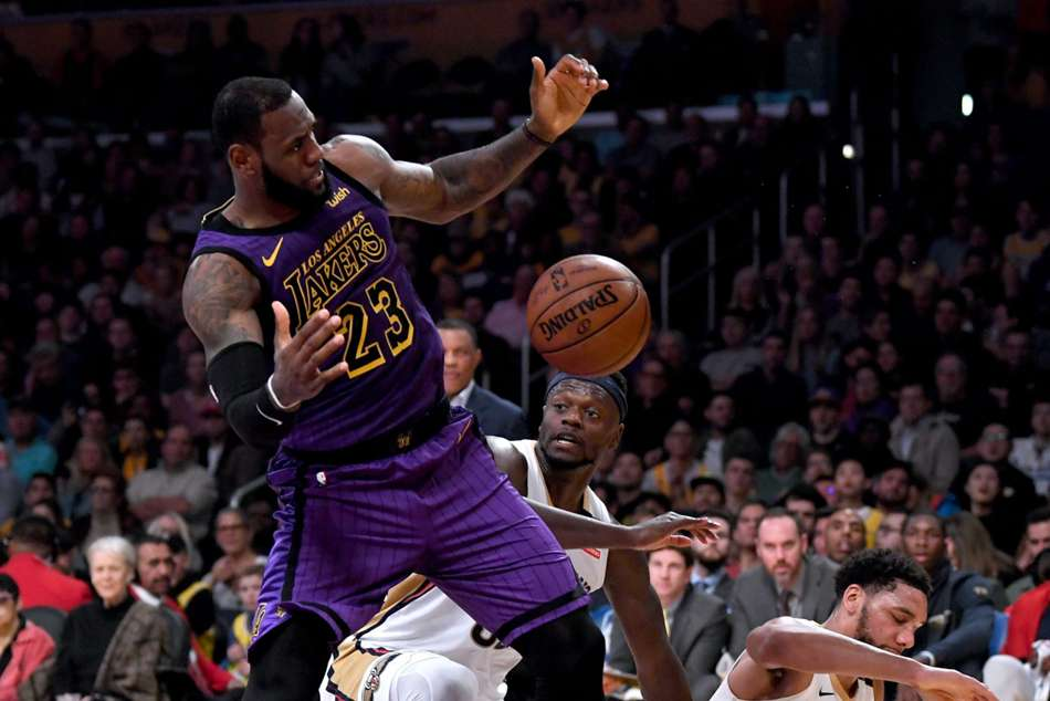 LeBron James was in peak form for LA Lakers
