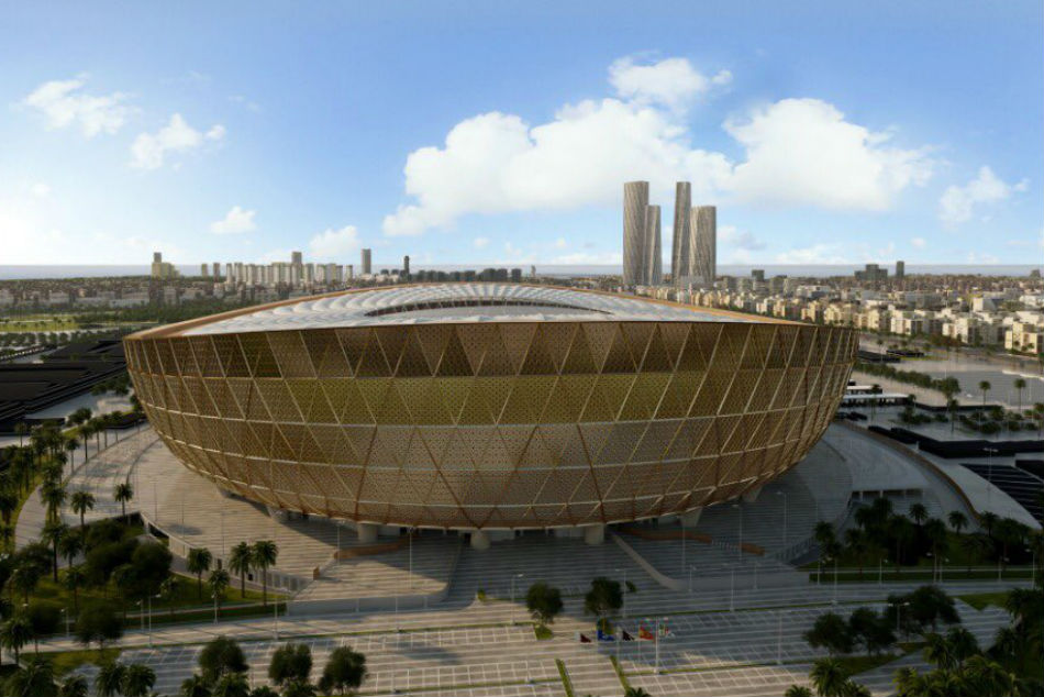 The design of the Lusail Stadium was unveiled