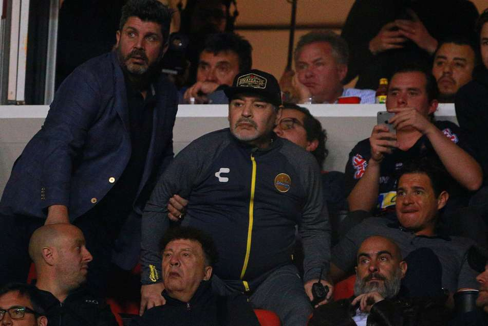 Diego Maradona Fracas Dorados Ascenso Mx Atletico San Luis