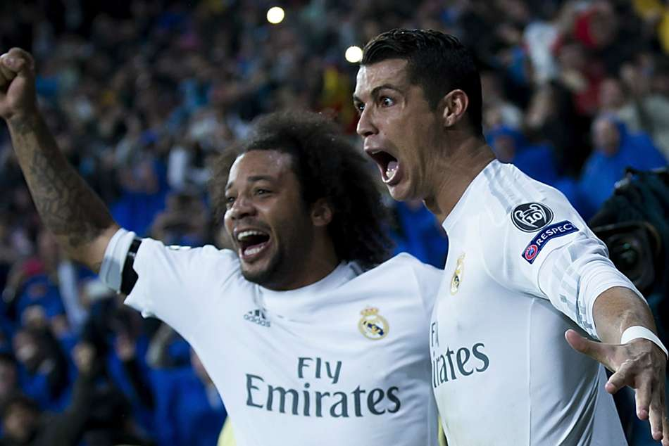 Marcelo Real Madrid Cristiano Ronaldo Juventus
