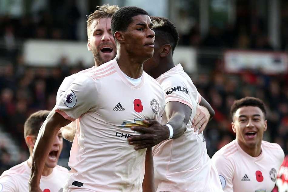 Liverpool Manchester United Marcus Rashford A Leader For Jose Mourinho Premier League