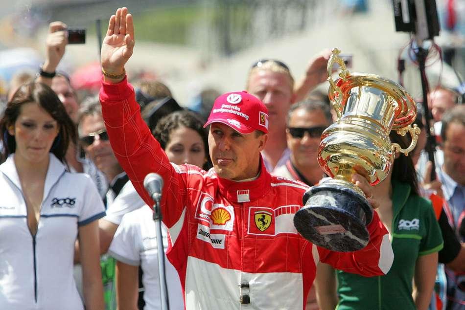 Michael Schumacher Latest 50th Birthday Museum Exhibition Ferrari
