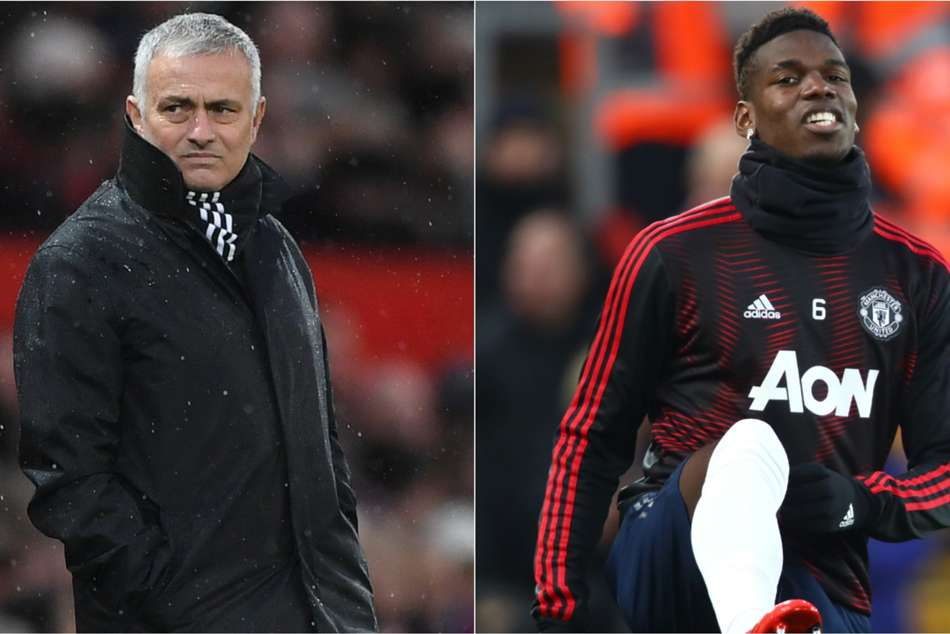 Manchester United boss Jose Mourinho benched Paul Pogba in Liverpool defeat