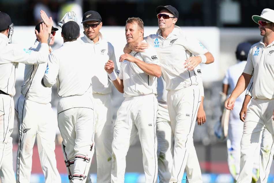 New Zealand Win Sri Lanka Test Cricket