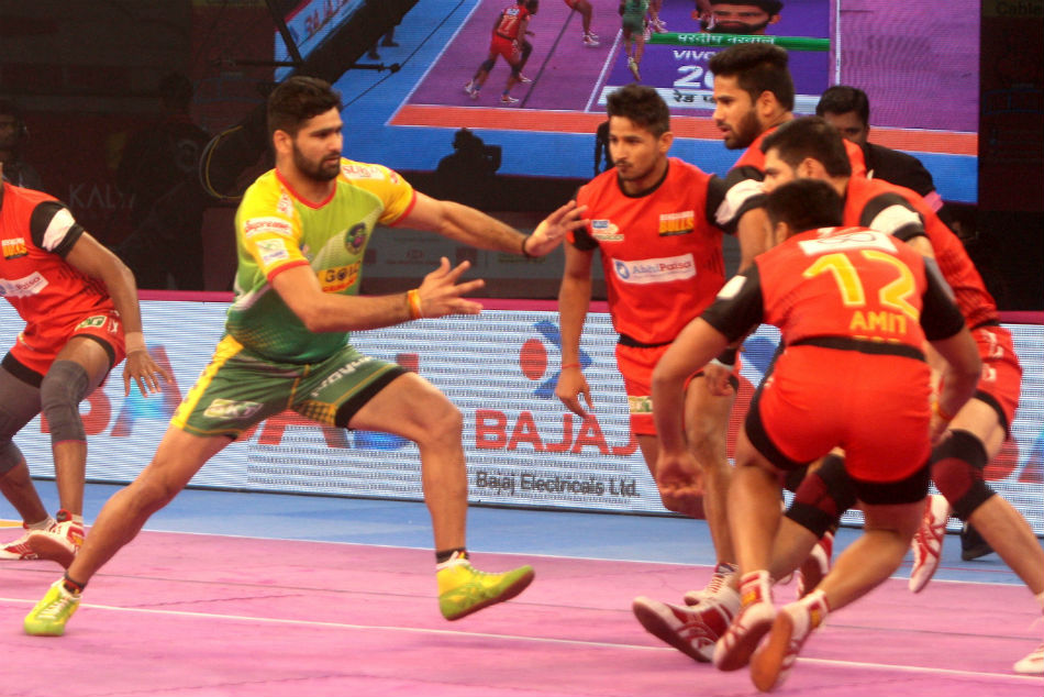 Pkl 2018 Pardeep Narwal Shines Again As Patna Pirates Play Thrilling Tie Against Bengaluru Bulls
