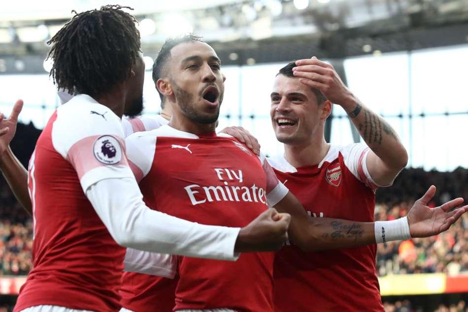 Premier League Wrap Aubameyang Double Inspires Thrilling Derby Triumph